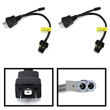71cAasnEn0L._SY355_ amazon com ijdmtoy (2) easy relay harness for h4 9003 hi lo bi hid 12v wiring harness controller at gsmportal.co