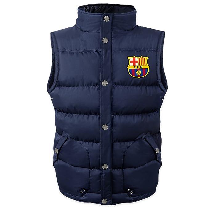 FC Barcelona - Chaleco acolchado oficial - Para niño  Amazon.es  Ropa y  accesorios 5e272516df1