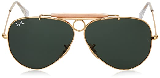 Ray-Ban Aviator RB 3025, Gafas de Sol Unisex, Dorado (Gold), 58 mm: Amazon.es: Ropa y accesorios