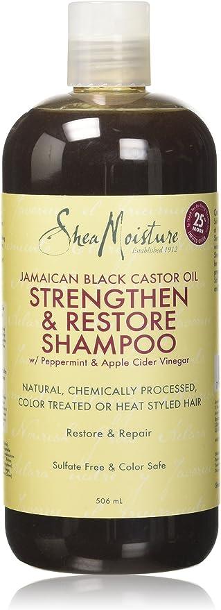 Humectación de karité, aceite de ricino negro jamaicano, champú ...