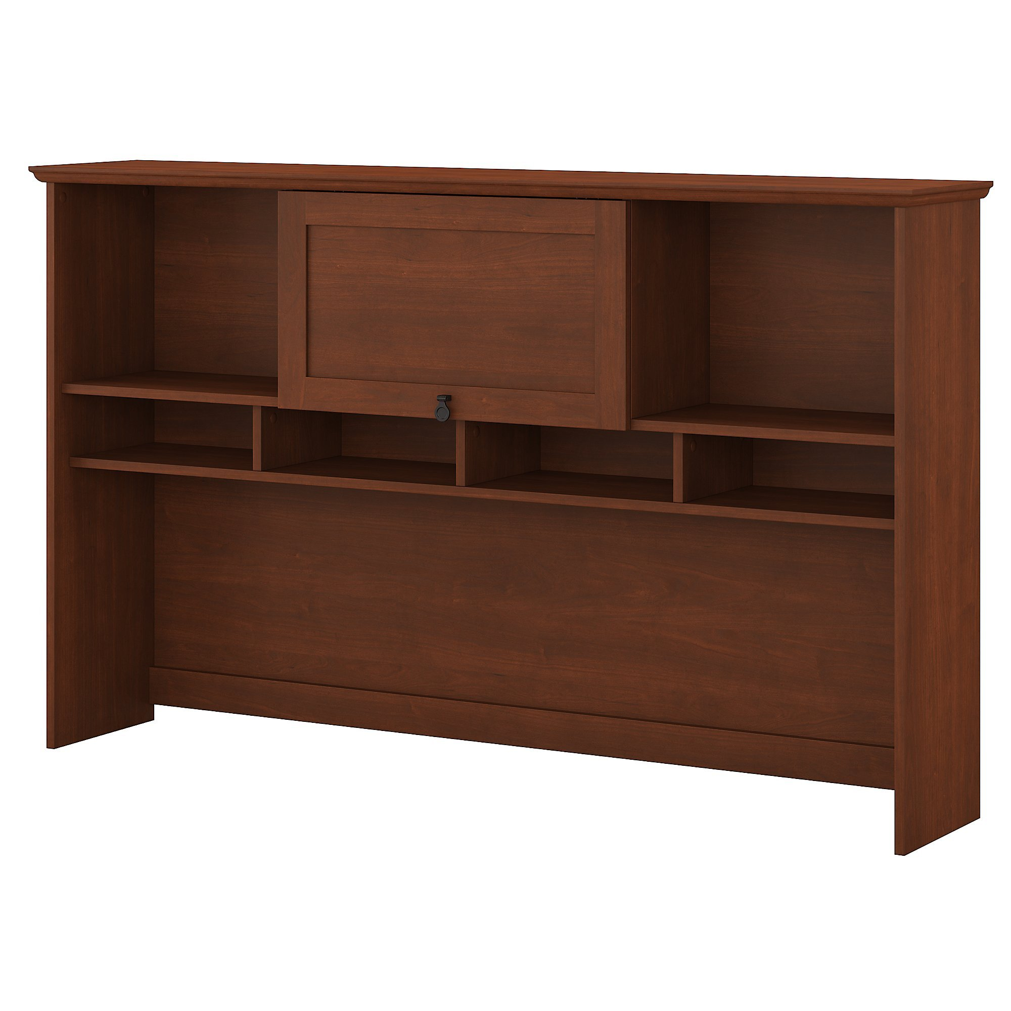 Bush Furniture Buena Vista 60W Hutch in Serene Cherry by Bush Furniture