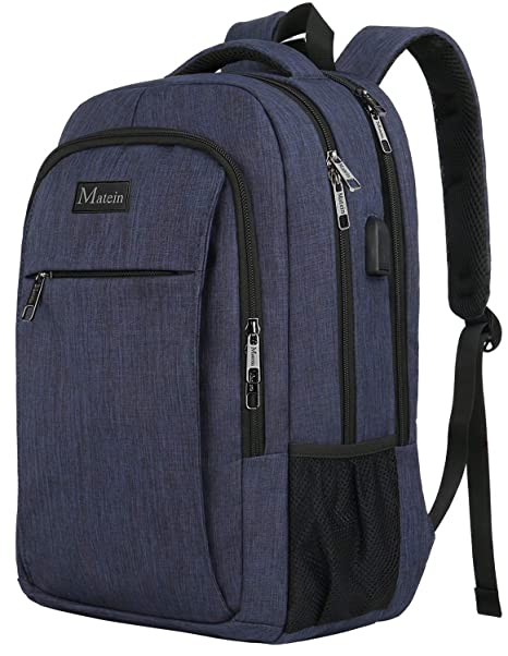 Amazon.com  Laptop Backpack with USB Charging Port 57aeb1f30aa57