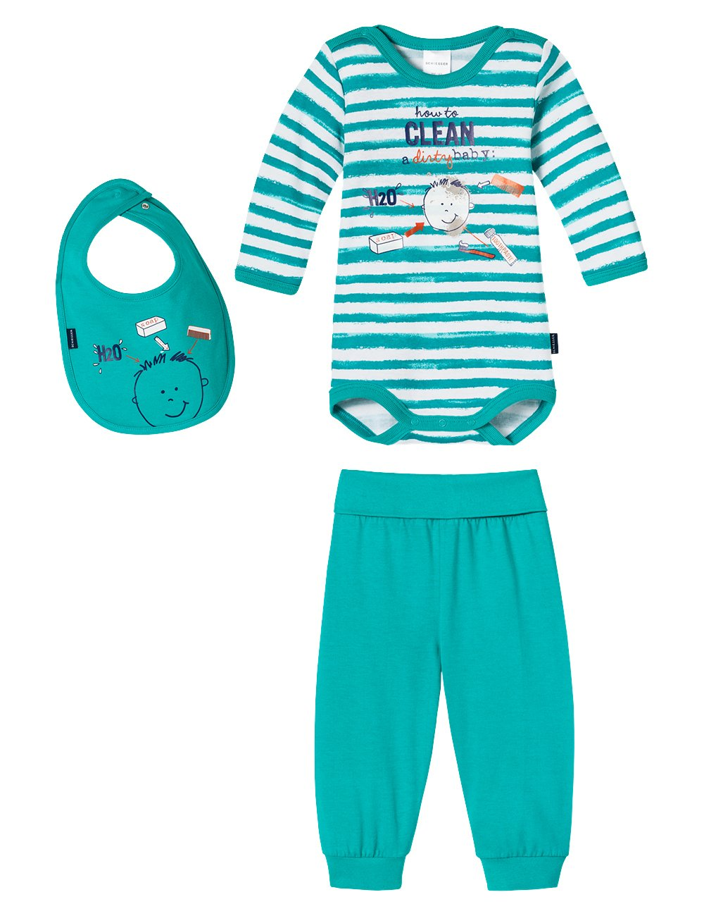 Schiesser Baby Boys Baby Set Jungs Lingerie Set Schiesser AG 146199