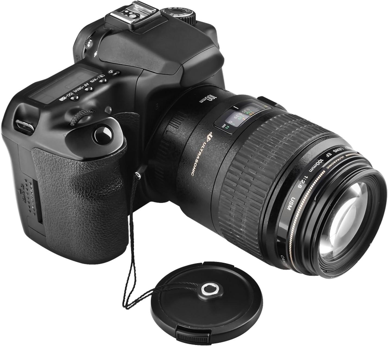 Insten Repuesto Lente Cap Keeper Soporte Compatible para Nikon ...
