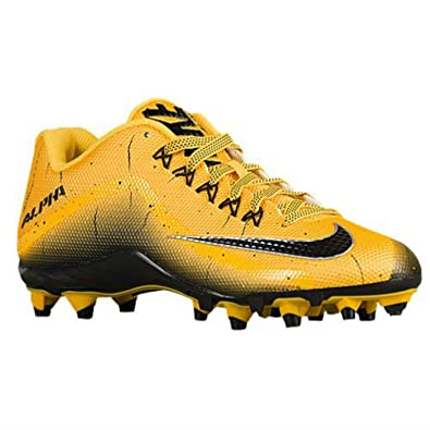bda113171e2a Nike Alpha Pro 2 TD Low Football Cleats Mens Size 12 Yellow Black