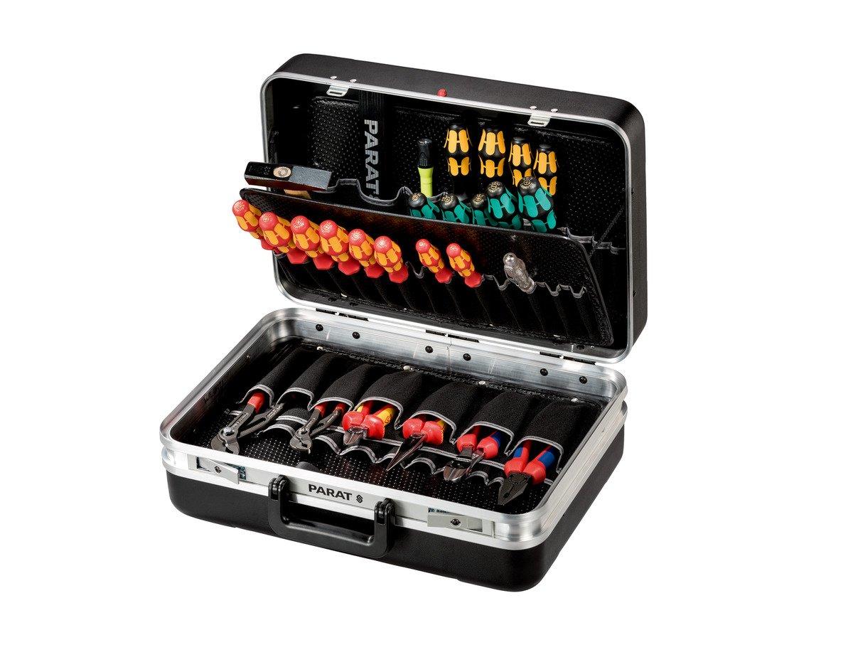 mit max Inneneinrichtung Ohne Inhalt PARAT 432000171 Silver Werkzeugkoffer