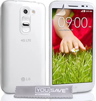 Yousave Accessories® LG G2 Mini Case de Silicona Transparente ...