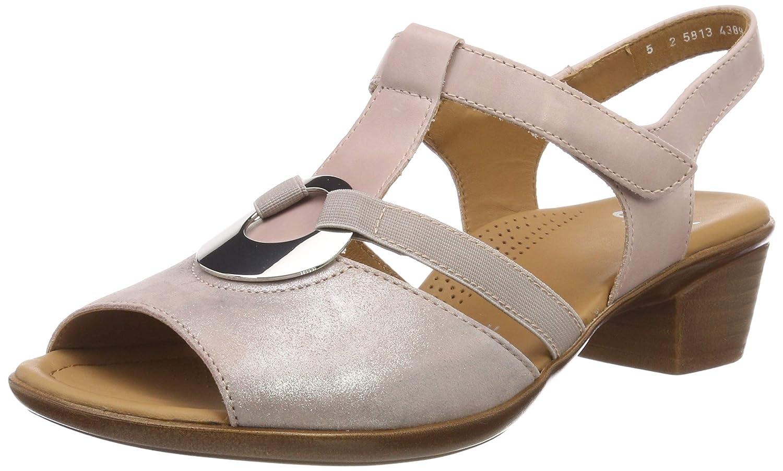 ARA Women's Lugano 1235715 T Bar Sandals