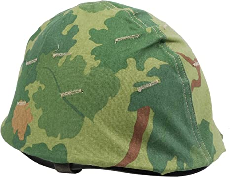 Loklode Reproduction Wwii Us Army M1 Helmet Vietnam War Us Military Reversible Mitchel Camouflage Helmet Cover Amazon Co Uk Sports Outdoors