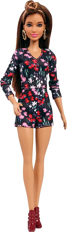 Amazon.es: Barbie Fashionista, Muñeca Rosey Romper, juguete +7 ...