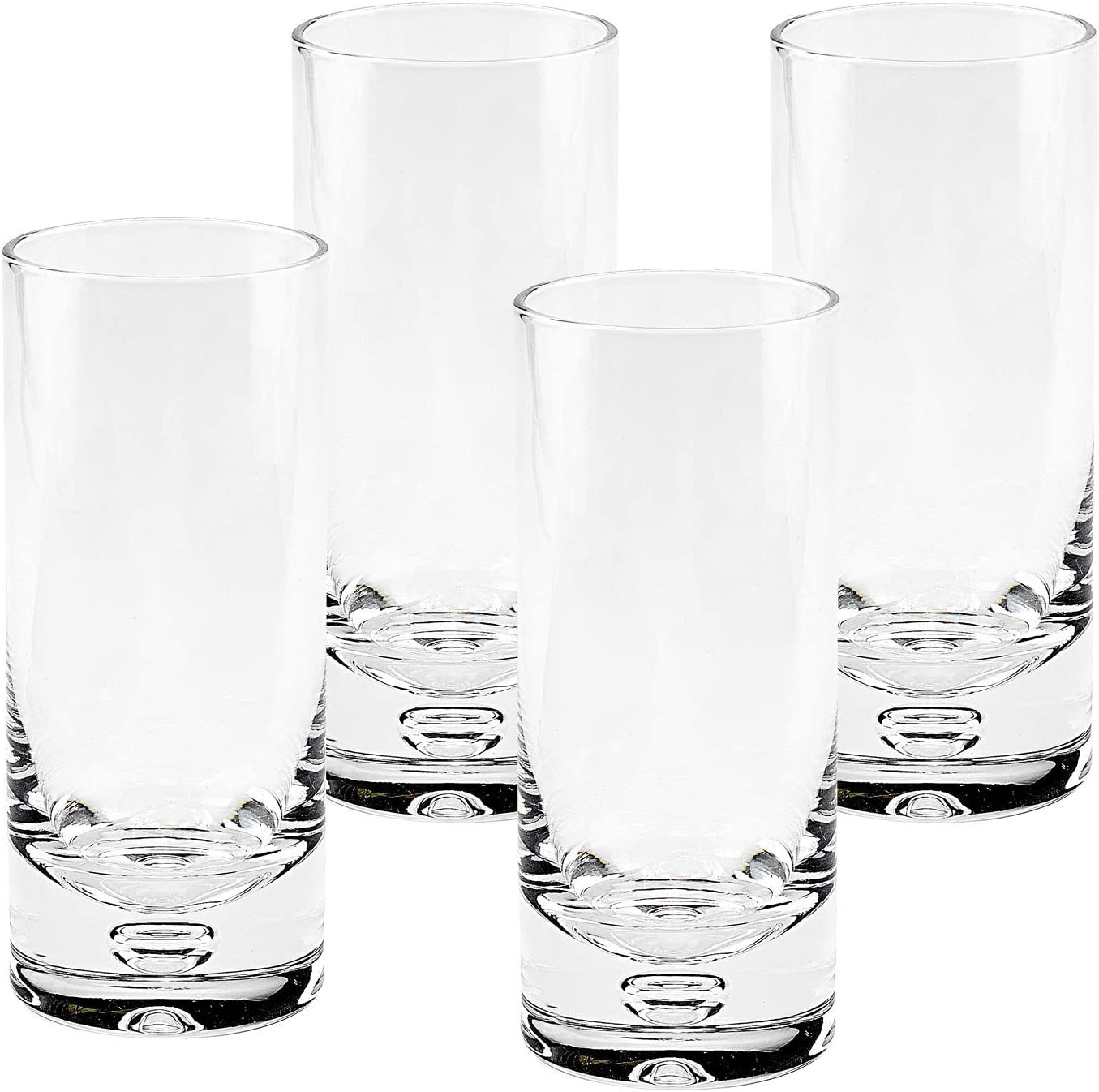 Amazon Com Badash Galaxy Crystal Highball Glasses 4 Piece Set 13 Oz Mouth Blown Tall Cocktail Glasses Mixed Drinks Glass Tumbler Fine Lead Free Crystal Glassware Highball Glasses Mixed Drinkware Sets