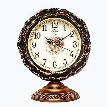 NAOZ Estilo europeo Dormitorio / Sala de estar Reloj ...