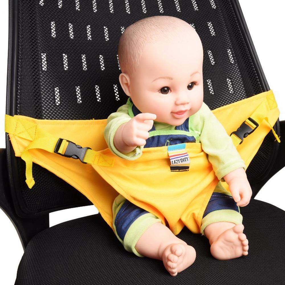 f/ür Reisen erleichtert Das F/üttern von Babys Rose Komfort ungiftig Sicherheitsgurt Gurt f/ür Babyf/ütterung KOBWA Baby F/ütterungsstuhl-G/ürtel tragbar waschbar