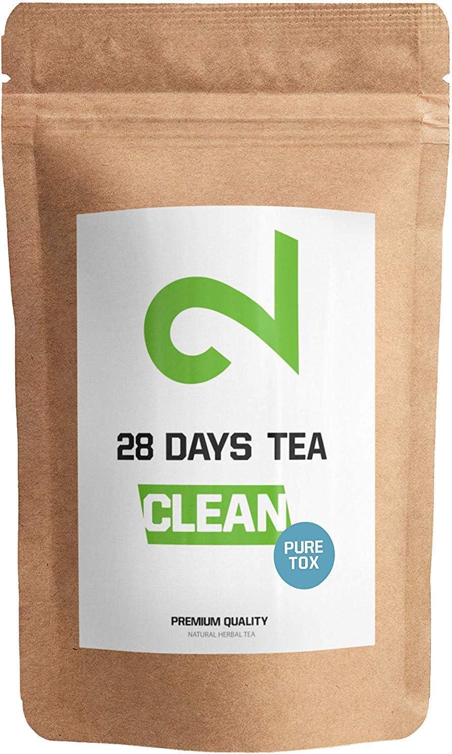 DUAL 28 Days Detox Tea - Té desintoxicante   Para Pérdida de Peso ...