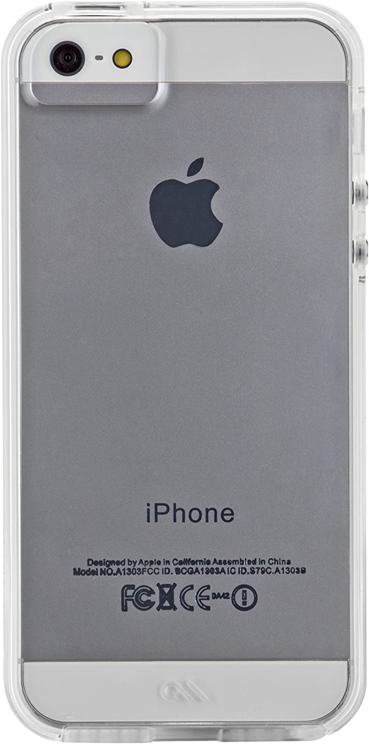 Case-Mate - Naked Tough Case for Apple iPhone SE/5/5s in Clear