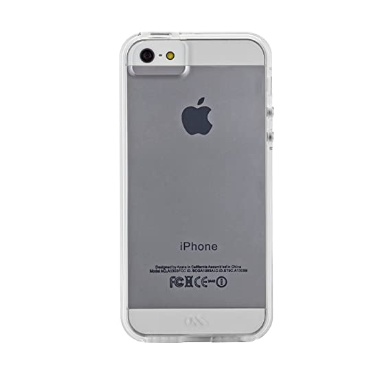 buy popular 89bf2 eb7f7 Case-Mate Naked Tough Dual Layer Case Cover iPhone 5/5S/SE - Clear