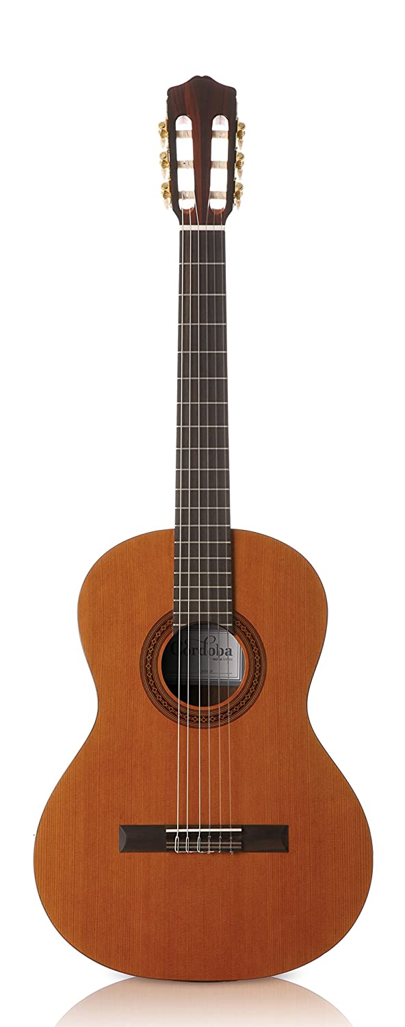 cf6936a083b Made of Canadian Ceder and Mahogany, this Cordoba 3/4 Spanish guitar is one  of the best sounding three quarter size guitars we've ever seen.