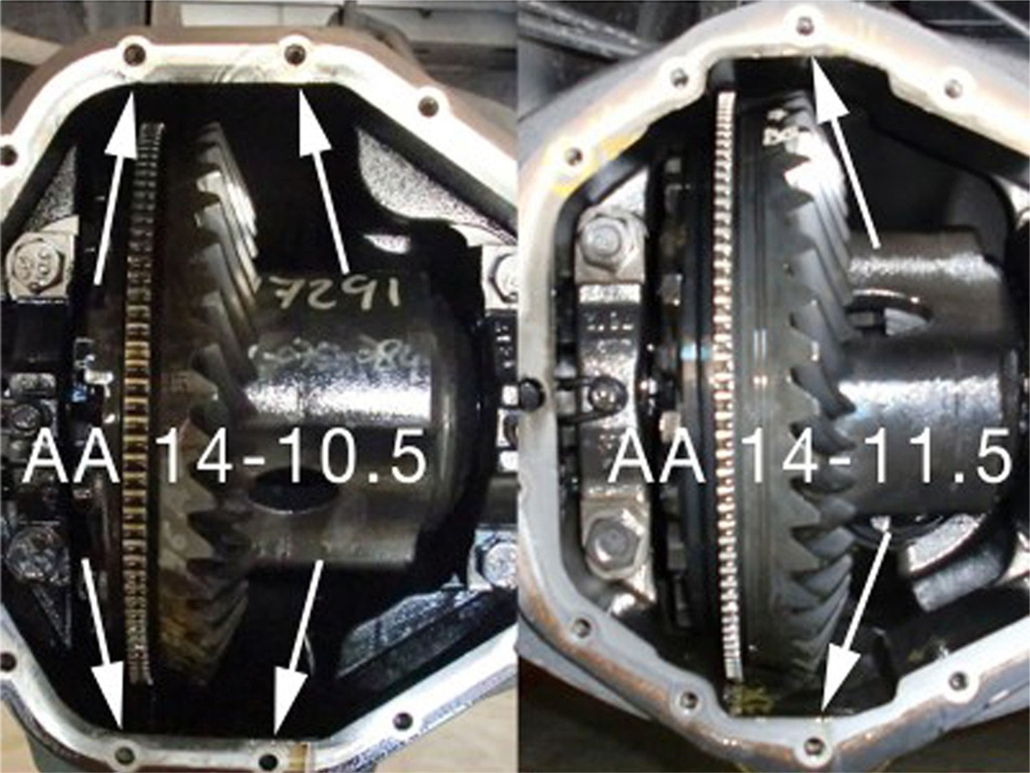 aFe Power 46-70012-WL Pro Series Machined Rear Differential Cover with Gear Oil by aFe Power (Image #7)