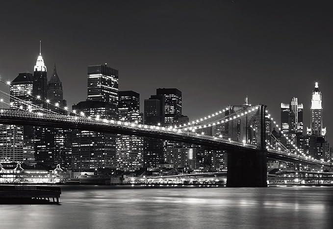 Eurographics DW-AU1064 New York Skyline - Póster decorativo para pared (254 x 366 cm)