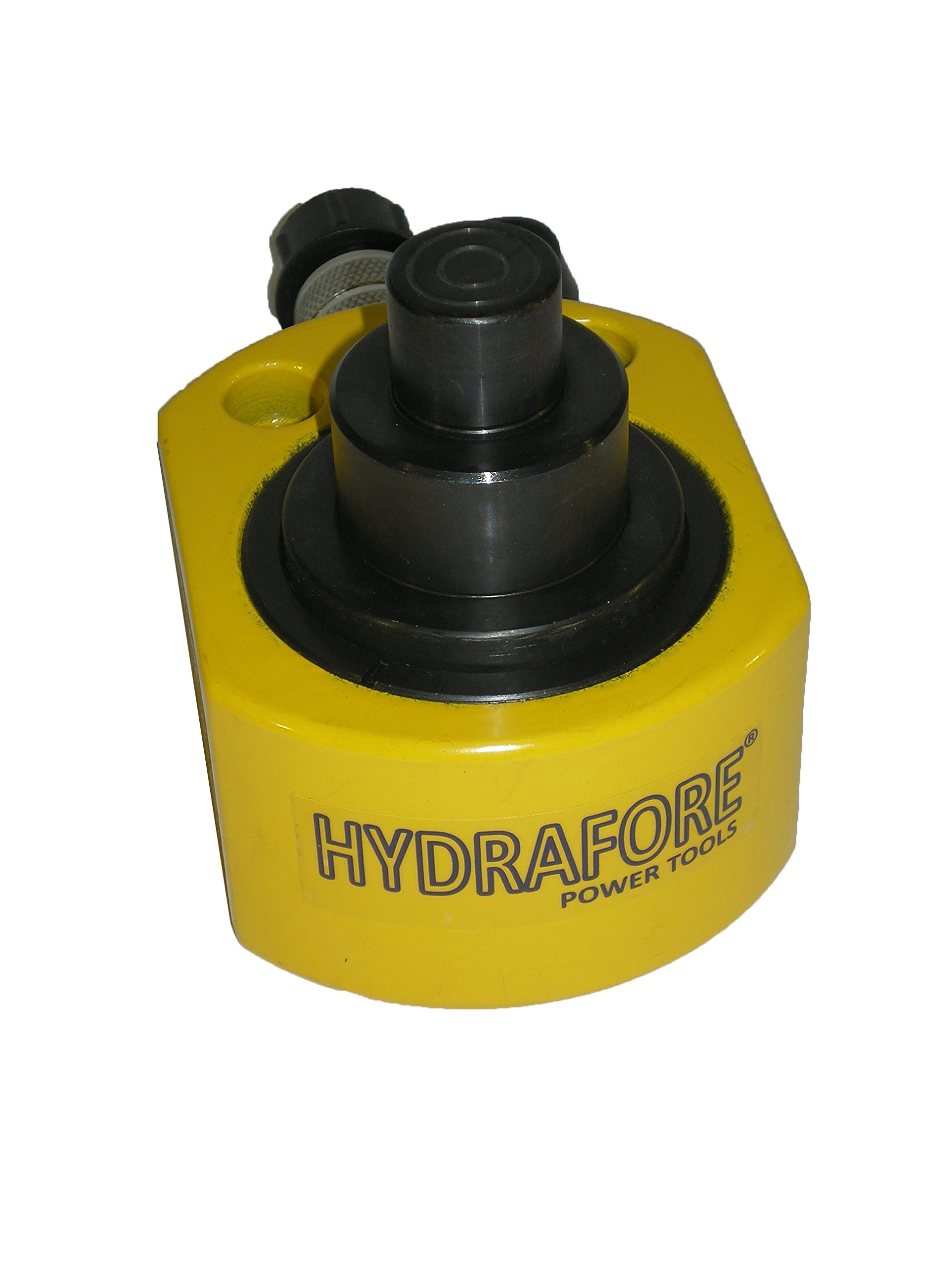 30 tons 2.12'' stroke Multi stage Low Height Hydraulic Cylinder Jack Ram YG-30D by HYDRAFORE (Image #4)