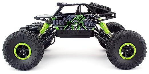 HB HB de P1803 Rock Crawler, Cross Race teledirigido, 1: 18 RC Auto, 4WD Monster Truck/Off Road Vehículos (Verde), Grün1: Amazon.es: Juguetes y juegos
