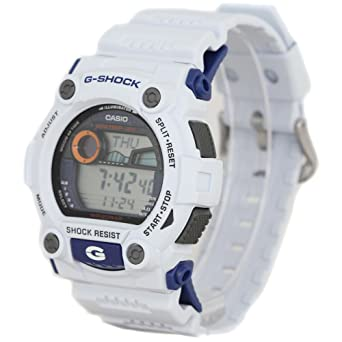 4bad0617fba Image Unavailable. Image not available for. Color  Casio Men s G7900A-7 G-Shock  Rescue White Digital Sport Watch