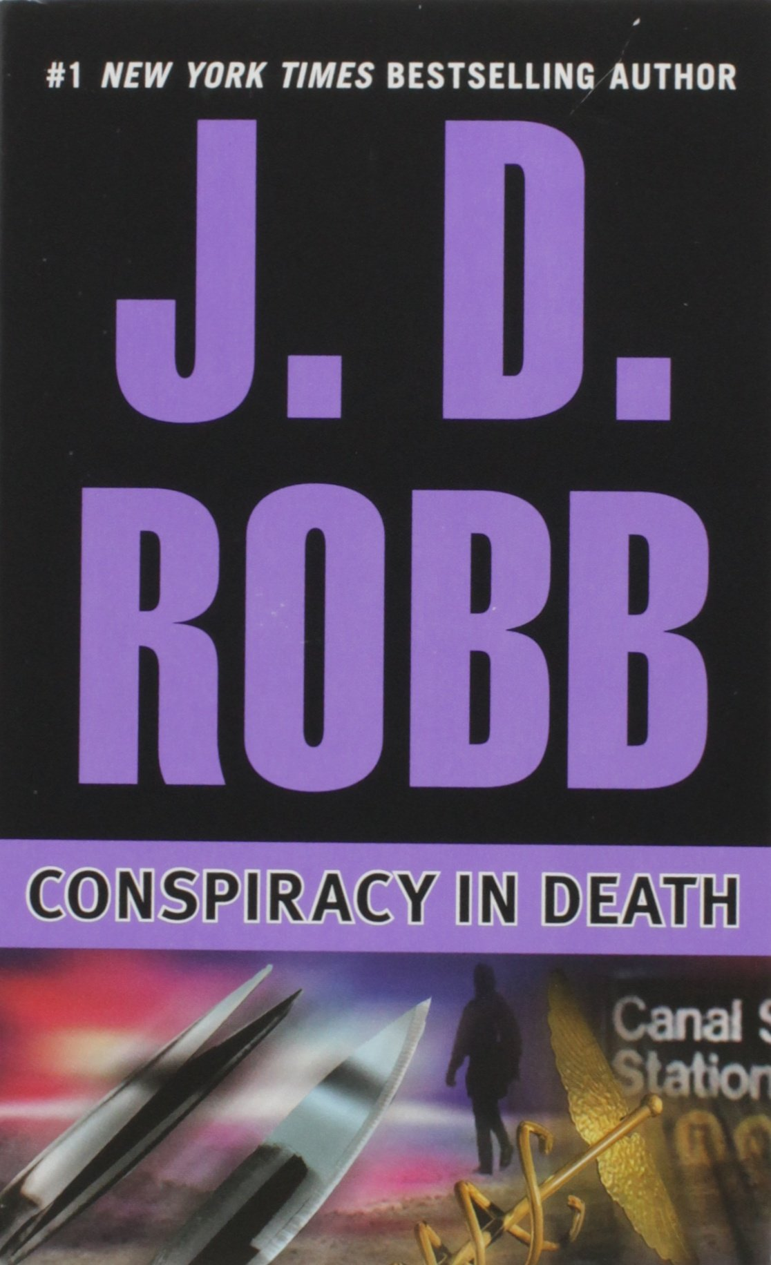 Conspiracy Death J D Robb product image