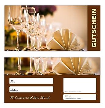 6c7b844f0c 100 Geschenkgutscheine (Gastro-665) - Ein schönes Produkt für Ihre Kunden  Gutscheine Gutscheinkarten