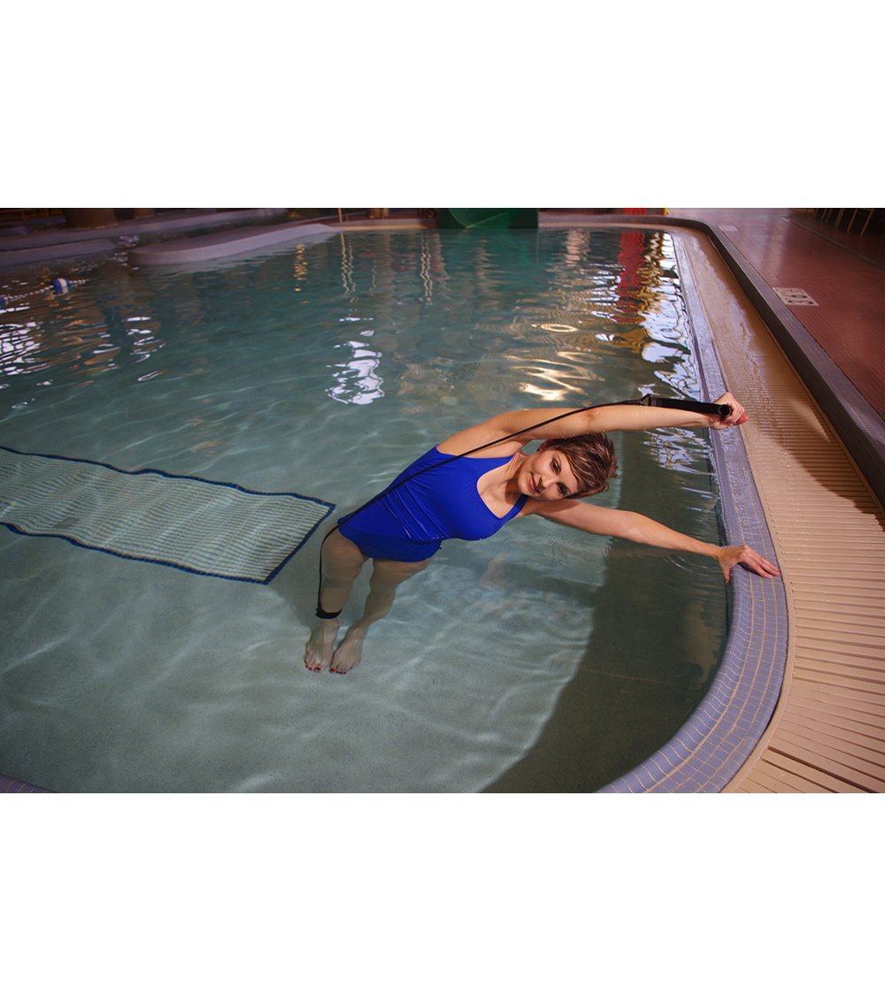 StretchCordz Pool Aqua Band, Blue Getting Fit S300BL