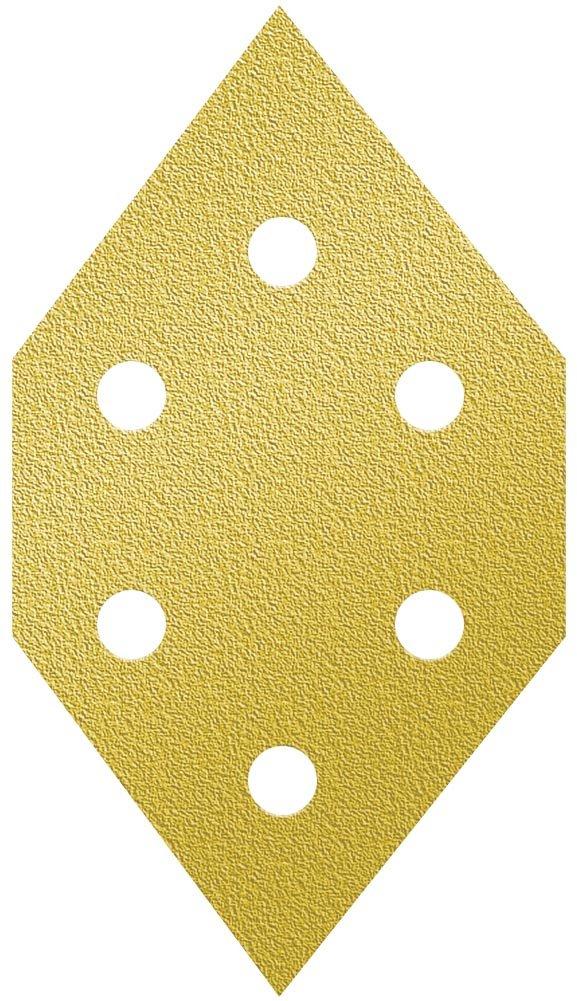 A&H Abrasives 125186, 20-pack, Multi Tool Sanding Shapes, Porter Cable Diamond H&l, Pc Detail 6 Hole H&L Aluminum Oxide 220 Grit