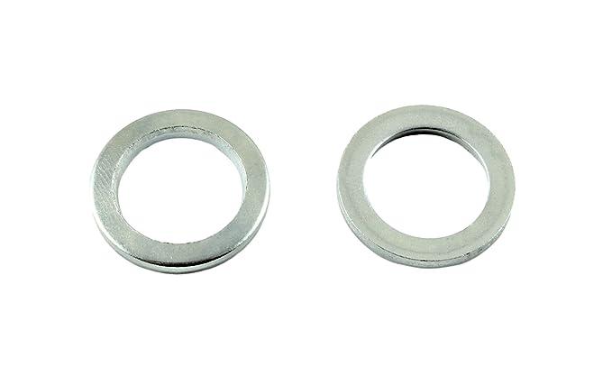 Mengenauswahl m/öglich SN-TEC Scharnierscheiben//Fitschenringe /Ø 12mm x 18mm x 2mm verzinkt 25