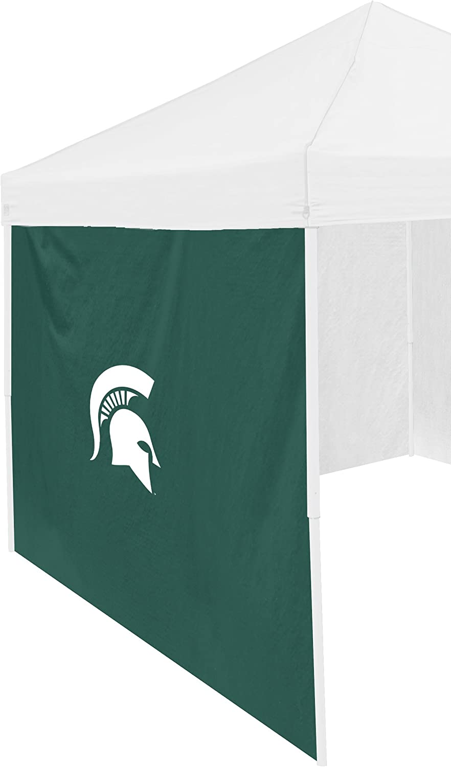 Logo Brands NCAA Michigan State Wolverines Adult Size Tailgate Canopy 9 x 9 Side Panel Tent