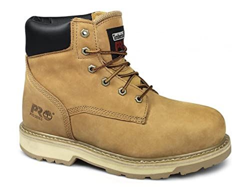 c359aa4ad1b22 Timberland PRO TRADITIONAL Mens Resistant Safety Boots Wheat UK 11: Amazon. co.uk: Shoes & Bags