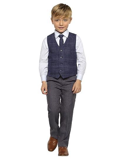 Paisley OF LONDON, De Niño Chaleco Suit, Traje Paje niño ...