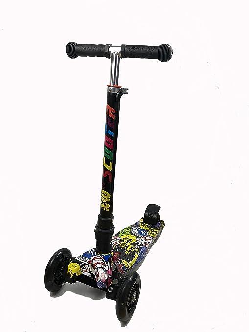 KioiKioi Patinete de 3 ruedas para niños de 2 a 8 años de ...