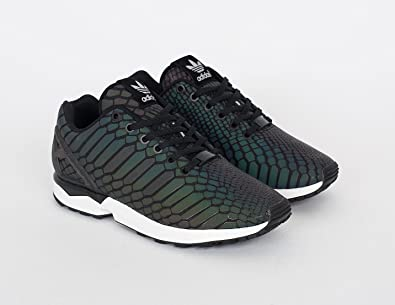 9aacfe98a8ad Image Unavailable. Image not available for. Colour  adidas ZX Flux Xeno  Reflective Core