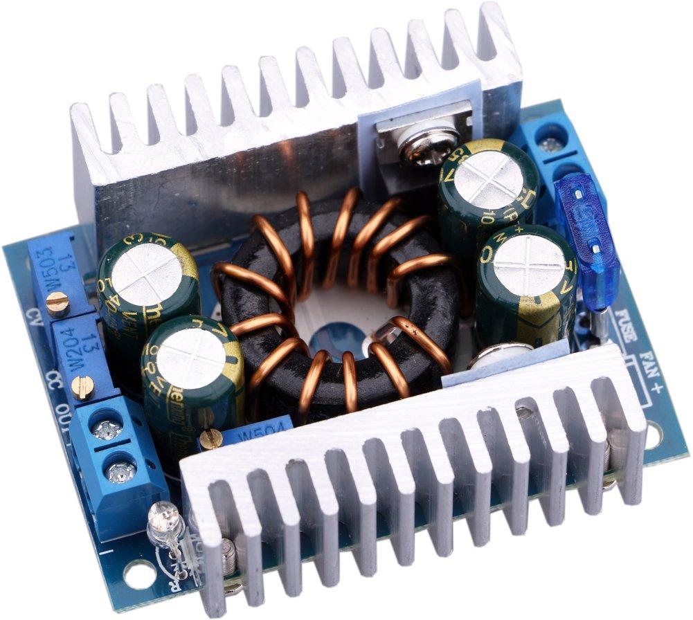 Dc Boost Converter Yeeco 150w 8a Step Up Diagram Ingram 3 30v 3a Adjustable Regulated Power Supply Board 8 32v 12v 24v To 9 46v Voltage Regulator Booster Module