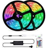 LED Strip Lights Sync to Music, OxyLED 32.8ft LED Lights for Bedroom, 5050 Led Color Changing Flexible Rope Lights with…