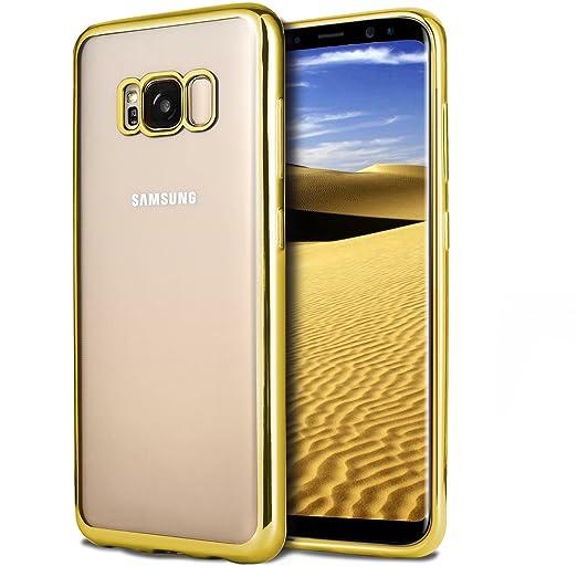 18 opinioni per Custodia Samsung Galaxy S8, Ubegood Bumper Caso per Galaxy S8 Cristallo