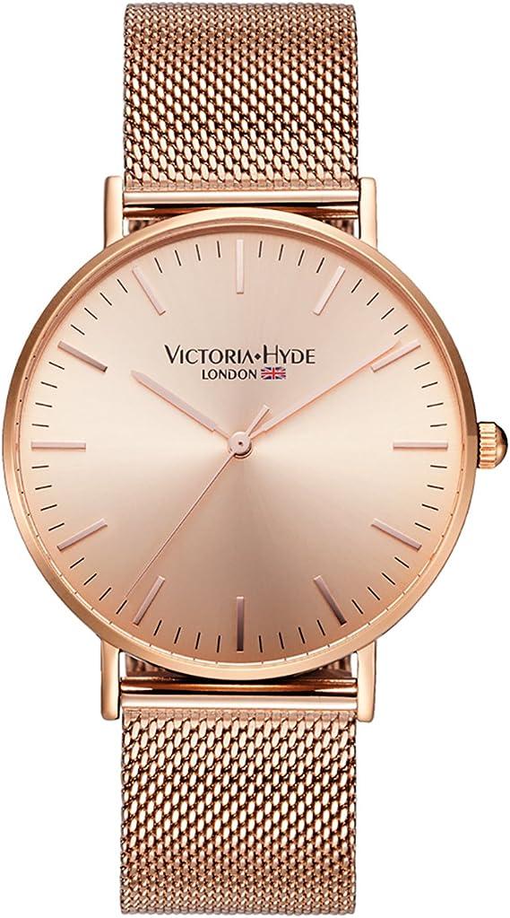 Amazon.com: Victoria Hyde - Reloj de pulsera analógico de ...