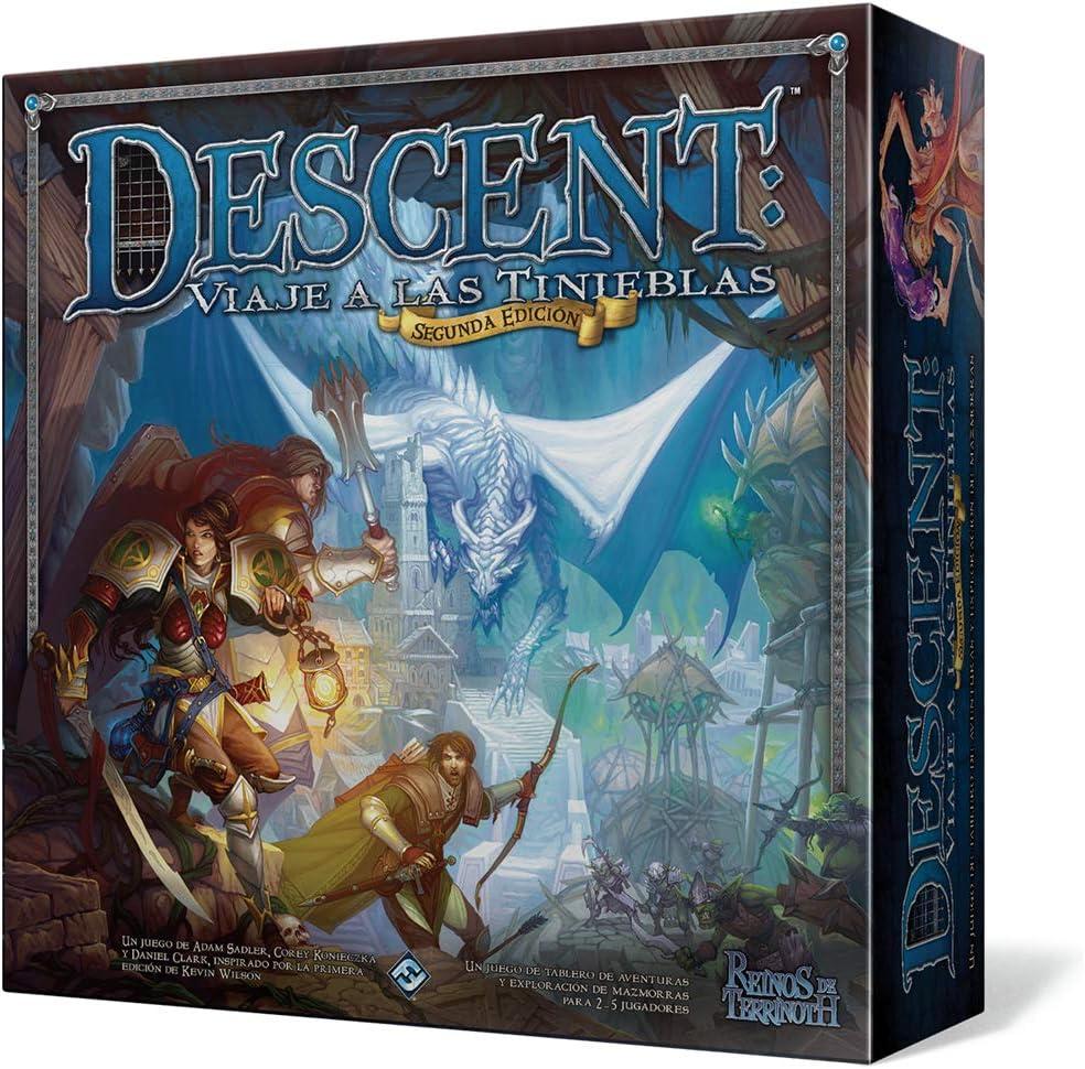 Descent, viaje a las tinieblas - juegos de mesa de aventuras