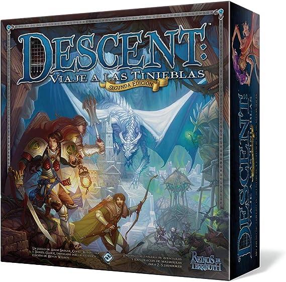 Fantasy Flight Games - Descent, Viaje a las tinieblas (Asmodee ...
