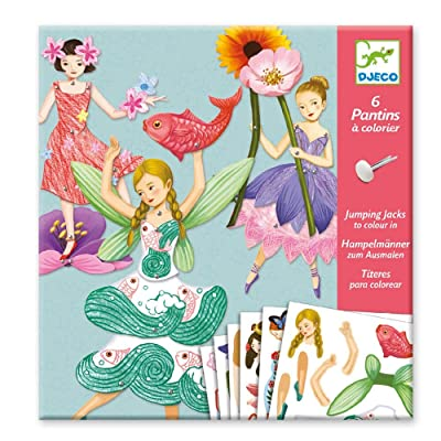Fairies Paper Puppets: Arts, Crafts & Sewing