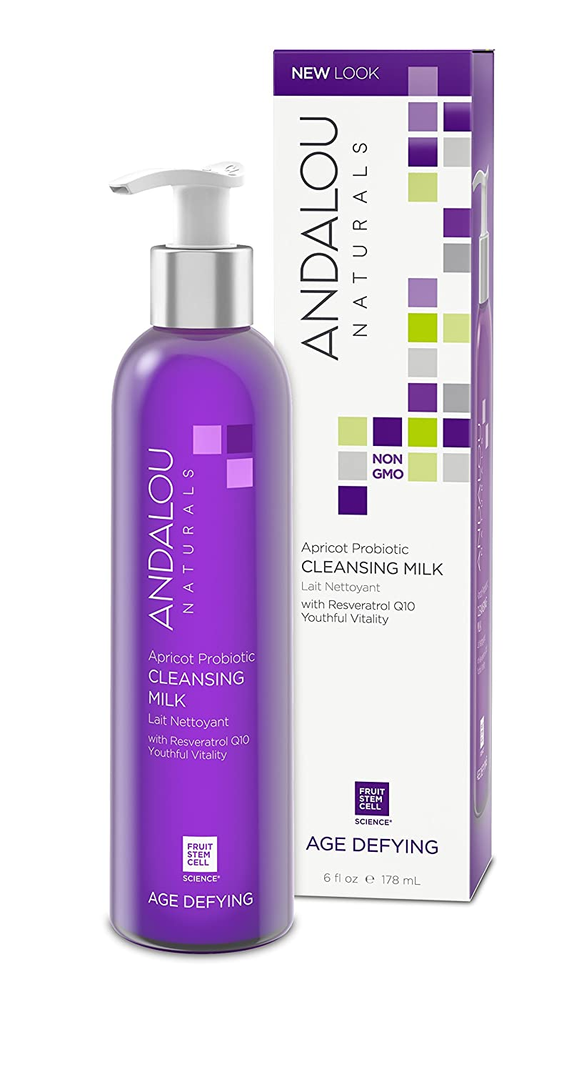 Andalou Naturals Apricot Probiotic Cleansing Milk, 6 fl. Oz. 43739