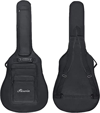 """Heavy Duty Thicken Soft Padded 40/""""//41 Electric Bass Acoustic Guitar Case Gig Bag"""