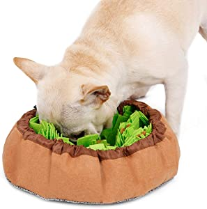 Studio 21 Graphix Snuffle Mat for Dogs Large, Dog Puzzle Toys for Smart Dogs, Slow Eating Dog Bowl, Dog Interactive Toys Encourages Natural Foraging Skills