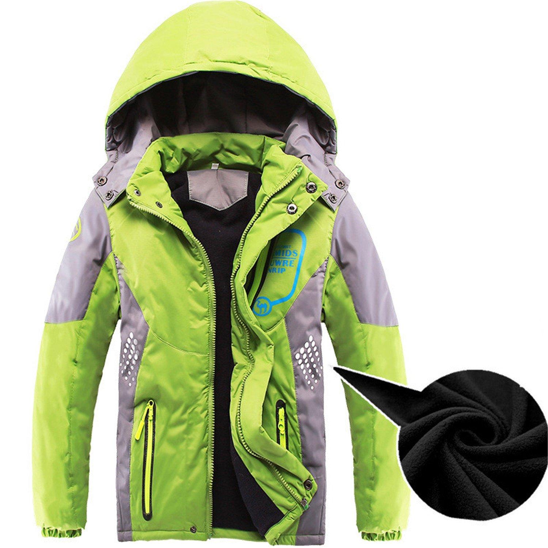 d6d032d9b12d Amazon.com  Mofgr Children Outerwear Warm Coat Sporty Kids Double ...
