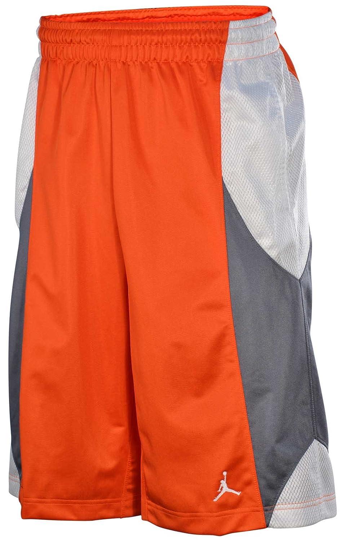 e03e19016755a7 Nike Jordan Durasheen Basketball Shorts Team Orange Cool Grey White  404309-828 (X-Large)  Amazon.ca  Sports   Outdoors