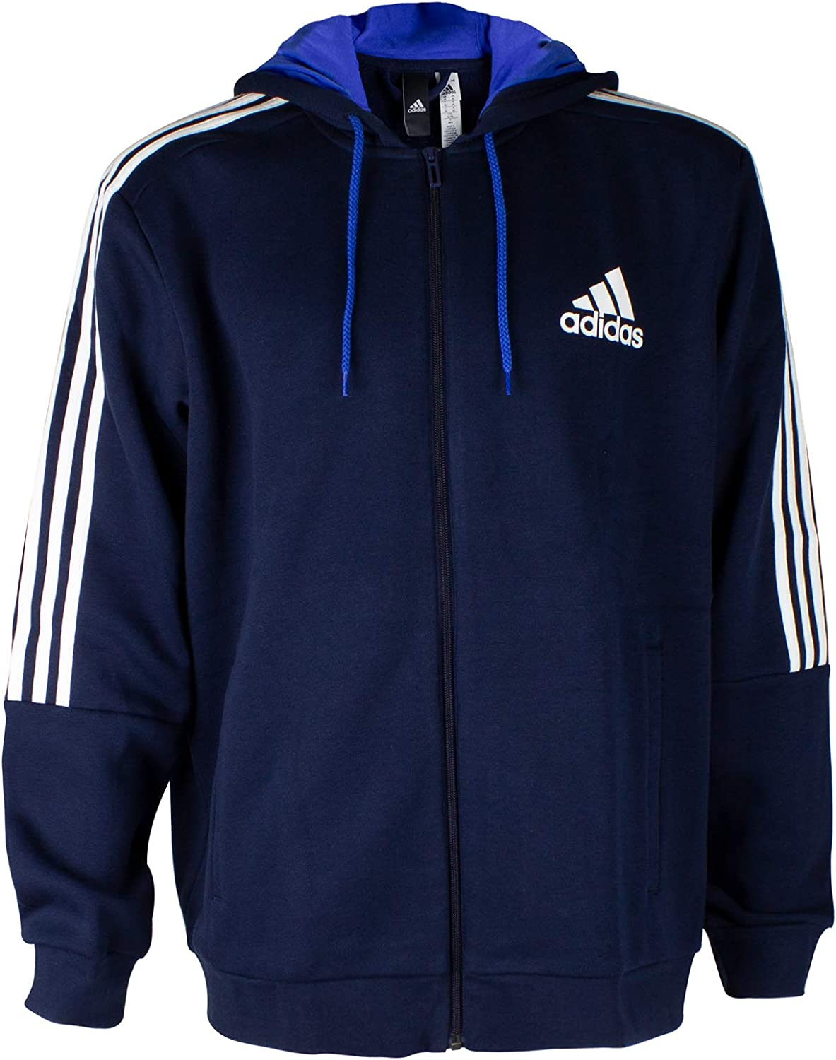 adidas Essentials 3S FZ Hoody Fleece(blau) Freizeit Jacken