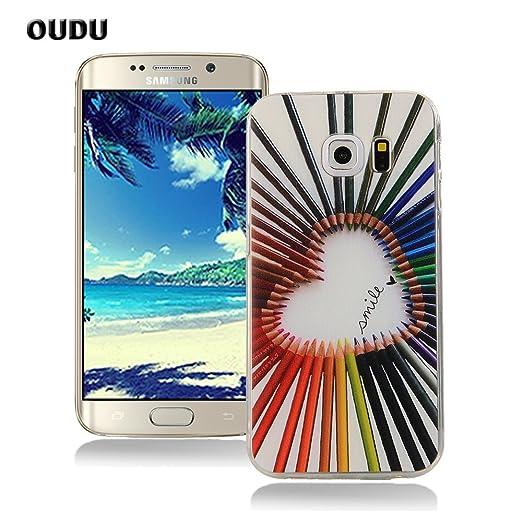 90 opinioni per OuDu Cover Samsung Galaxy S6 Edge Custodia TPU Silicone Cassa Gomma Soft